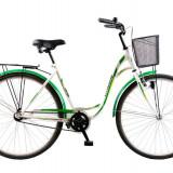 Bicicleta CITADINNE 2832 - model 2015-Alb-Albastru-500 mm - Bicicleta de oras DHS