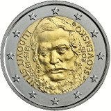 SLOVACIA moneda 2 euro comemorativa 2015, STUR - UNC, Europa, Cupru-Nichel