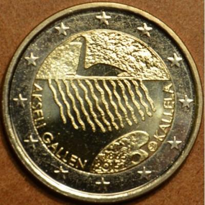 Finlanda moneda 2 euro comemorativa 2015, KALLELA - UNC foto