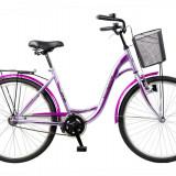 Bicicleta CITADINNE 2632 - model 2015-Negru-Galben-430 mm - Bicicleta de oras DHS