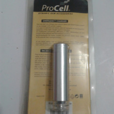 Incarcator de urgenta cu baterii-acumulator AA, Solar