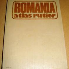 ROMANIA - Atlas Rutier - Harta Turistica