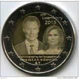 LUXEMBURG moneda de 2 euro comemorativa 2015, Marele Ducat - UNC, Europa, Cupru-Nichel