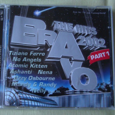 BRAVO THE HITS 2002 Part 1 - 2 C D Original - Muzica Dance sony music