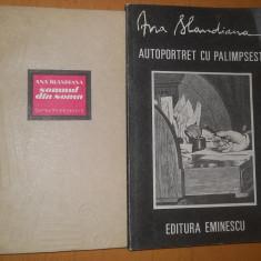 ANA BLANDIANA - LOT 4 CARTI POEZIE SI PROZA ( CB 6) - Carte poezie