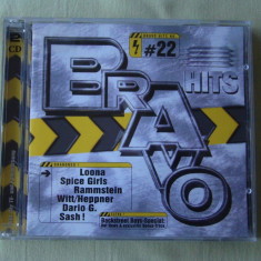 BRAVO HITS 22 (1998) - 2 C D Original - Muzica Dance emi records