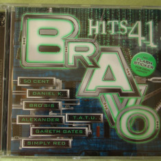 BRAVO HITS 41 (2003) - 2 C D Original - Muzica Dance sony music
