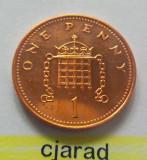 Moneda 1 Penny - ANGLIA, anul 2007 *cod 2214 --- UNC, Europa