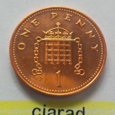 Moneda 1 Penny - ANGLIA, anul 2007 *cod 2214 --- UNC