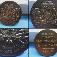 MEDALII STRAINE VINTAGE1. A Vanderzande-S. Lamour, bronz., Europa, An: 1968