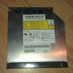 DVD-RW Sony AD-7580S SATA MSI CR610 - Unitate optica laptop