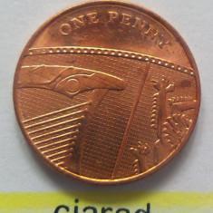Moneda 1 Penny - ANGLIA 2008A *cod 2215 UNC