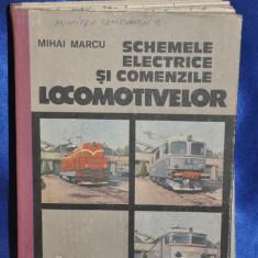 Schemele electrice şi comenzile locomotivelor - Mihai Marcu, 1992.CFR, Locomotiva - Carti Transporturi