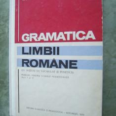 GRAMATICA LIMBII ROMANE NOTIUNI DE VOCABULAR SI FONETICA-BELDESCU, POPESCU - Culegere Romana