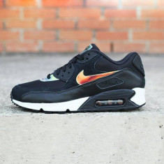 Nike AIR MAX AIRMAX 90 Black Ivory Cameleon - Adidasi barbati Nike, Marime: 39, Culoare: Din imagine
