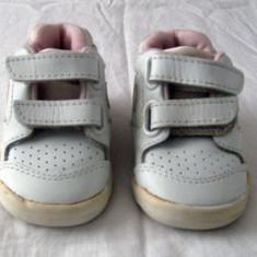 Adidasi copii Nike originali din piele marimea 17/18 - Super Pret, Culoare: Din imagine, Unisex, Piele naturala