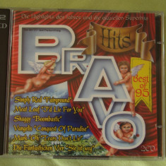BRAVO HITS Best Of '95 - 2 C D Original - Muzica Dance sony music