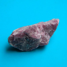 Specimen - turmalina roz (rubelit) - Fosila roca, Naturala