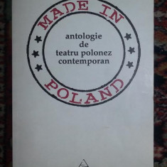 Antologie de teatru polonez contemporan - Carte Teatru