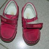 Ghete ghetute papucei, piele intoarsa, marimea 25, fetite, Small Foot. DONATIE!