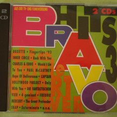 BRAVO HITS 3 (1993) - 2 C D Original - Muzica Dance sony music