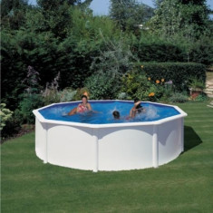 Piscina prefabricata rotunda Gre - 550 x h 132cm - KITPR558