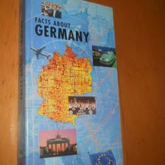 FACTS ABOUT GERMANY - CARTE IN LIMBA ENGLEZA( CB6) - Carte in engleza