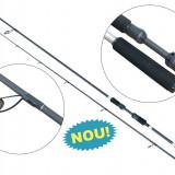 Lanseta fibra de carbon Baracuda Black Pearl 2 Actiune: 15-40g Lungime: 2, 05 m, Lansete Spinning, Numar elemente: 2