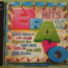BRAVO HITS 20 (1998) - 2 C D Original - Muzica Dance sony music