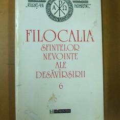 Filocalia 6 Simeon Noul Teolog Nichita Stithatul 1997 - Carti ortodoxe