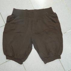 Pantaloni scurti de dama, ideali de casa, sport, mar M-L. COMANDA MINIMA 30 LEI! - Pantaloni dama, Marime: M, Culoare: Maro, Bumbac
