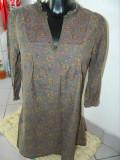 Rochie, rochita tip camasa, La redoute Creation, 40- XL. COMANDA MINIMA 30 LEI!, Lunga, La Redoute