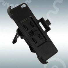 Suport auto grila ventilatie pentru iphone 5 G + folie ecran cadou - Suport telefon bicicleta