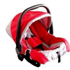 COSULET AUTO DHS FIRST TRAVEL 803-Verde-Portocaliu - Scaun auto copii grupa 0+ (0-13 kg) DHS Baby, 0+ (0-13 kg), Isofix