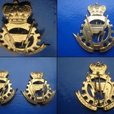 INSIGNE-MEDALII STRAINE. Set 2 Insigne militare Rare- British India. - Medalii Romania
