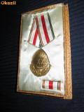 DECORATII-INSIGNE vechi Romania. Medalia aniversara RPR: 23august 1944-1964 .