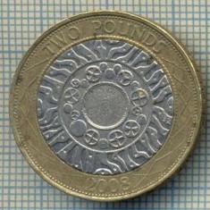 6956 MONEDA- MAREA BRITANIE - 2 POUNDS -2008 -starea care se vede, Europa