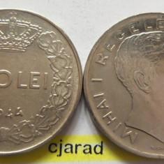 Lot/ Set Monede 100 Lei- Romania 1943 + 1944 CALITATE *cod 2261 - Moneda Romania