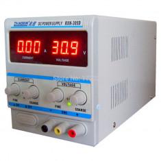 Sursa de laborator, simpla, afisaj digital, 0-30V - 0-5A - RXN-305D - Sursa PC