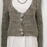 Cardigan model deosebit, made in ITALY, marimea L