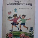 Liedersammlung - Culegere de cantece (in limba germana) / R7P2F - Carte educativa