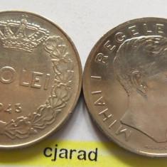 Lot/ Set Monede 100 Lei- Romania 1943 + 1944 CALITATE *cod 2262 - Moneda Romania
