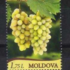 MOLDOVA 2013, Struguri, serie neuzata, MNH, Nestampilat