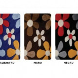 Covoras baie Sidef Flowers 3 buc / set – 60 x 100 cm