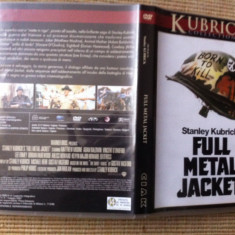 Full Metal Jacket 1987 dvd stanley kubrick movie film drama razboi warner bros - Film Colectie warner bros. pictures, Engleza