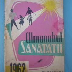 (C6424) ALMANAH SANATATII, (SANATATEA) 1962
