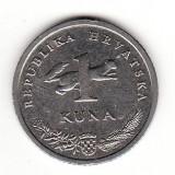 Croatia 1 kuna 2007 -  KM# 9.1, Europa, Cupru-Nichel