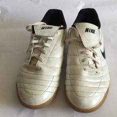 Adidasi originali marca Nike, mar.38 - Adidasi barbati, Culoare: Alb, Piele naturala