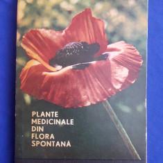 CONSTANTINESCU CORNELIU - PLANTE MEDICINALE DIN FLORA SPONTANA - 1967