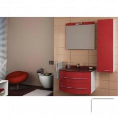 Mobilier de baie Belinda rosu - baza + corp suspendat - Corp baie